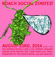 roach social zine fest
