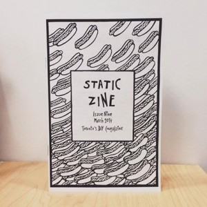 static zine