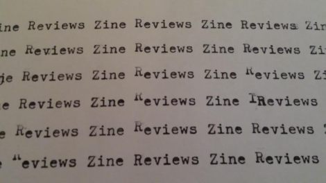zine reviews header